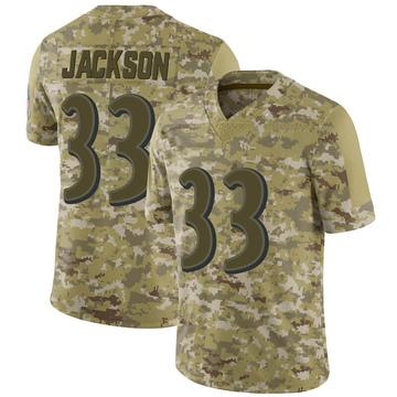 official photos 344a8 d0fcf Men's Nike Baltimore Ravens Bennett Jackson Purple Team ...