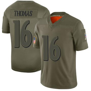 Men's Baltimore Ravens De'Anthony Thomas Camo 2019 Salute to Service Jersey - Limited