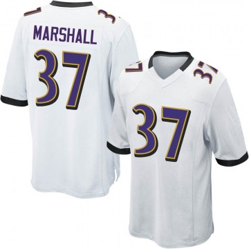 uk availability aaf84 e0f36 Iman Marshall Game Jersey - Ravens Store