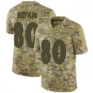 Men's Baltimore Ravens Miles Boykin Camo 2018 Salute to Service Jersey - Limited