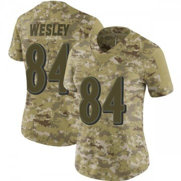 Women's Nike Baltimore Ravens Antoine Wesley Camo 2018 Salute to Service Jersey - Limited