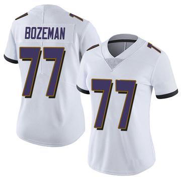 Women's Nike Baltimore Ravens Bradley Bozeman White Vapor Untouchable Jersey - Limited