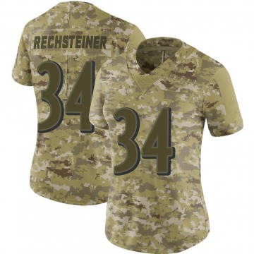 Women's Nike Baltimore Ravens Bronson Rechsteiner Camo 2018 Salute to Service Jersey - Limited
