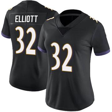 Women's Nike Baltimore Ravens DeShon Elliott Black Alternate Vapor Untouchable Jersey - Limited