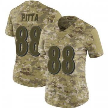 Women's Nike Baltimore Ravens Dennis Pitta Camo 2018 Salute to Service Jersey - Limited