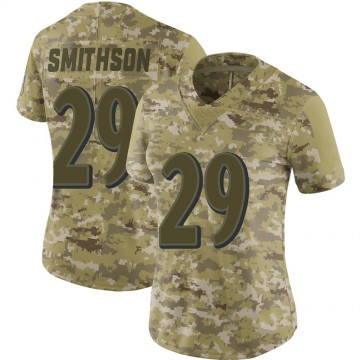 Women's Nike Baltimore Ravens Fish Smithson Camo 2018 Salute to Service Jersey - Limited