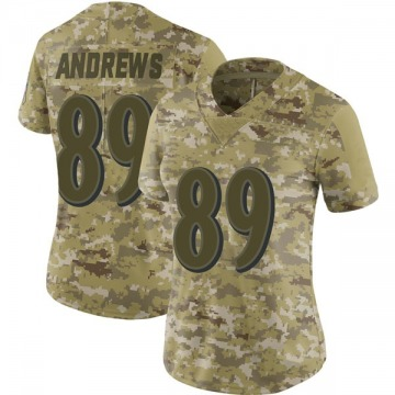Women's Nike Baltimore Ravens Mark Andrews Camo 2018 Salute to Service Jersey - Limited