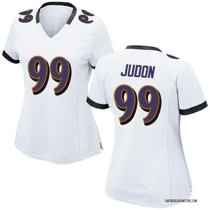 buy popular 812c4 d93cb Women's Nike Baltimore Ravens Matthew Judon White Jersey - Game