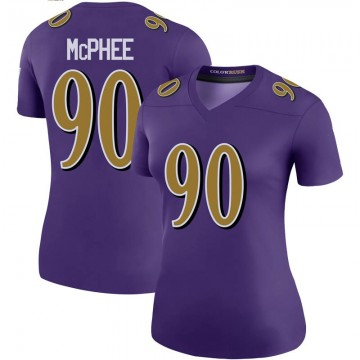 Women's Nike Baltimore Ravens Pernell McPhee Purple Color Rush Jersey - Legend