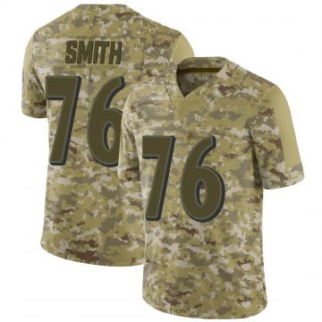 Youth Nike Baltimore Ravens Andre Smith Camo 2018 Salute to Service Jersey - Limited