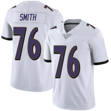 Youth Nike Baltimore Ravens Andre Smith White Vapor Untouchable Jersey - Limited