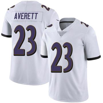 Youth Nike Baltimore Ravens Anthony Averett White Vapor Untouchable Jersey - Limited
