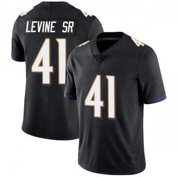 Youth Nike Baltimore Ravens Anthony Levine Sr. Black Alternate Vapor Untouchable Jersey - Limited