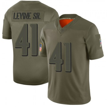 Youth Nike Baltimore Ravens Anthony Levine Sr. Camo 2019 Salute to Service Jersey - Limited