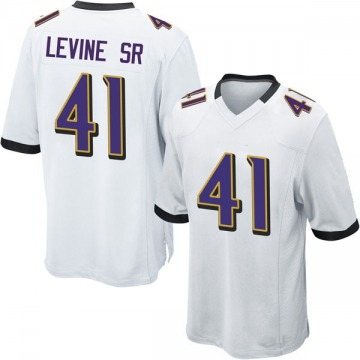 Youth Nike Baltimore Ravens Anthony Levine Sr. White Jersey - Game