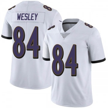 Youth Nike Baltimore Ravens Antoine Wesley White Vapor Untouchable Jersey - Limited
