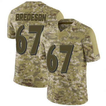 Youth Nike Baltimore Ravens Ben Bredeson Camo 2018 Salute to Service Jersey - Limited