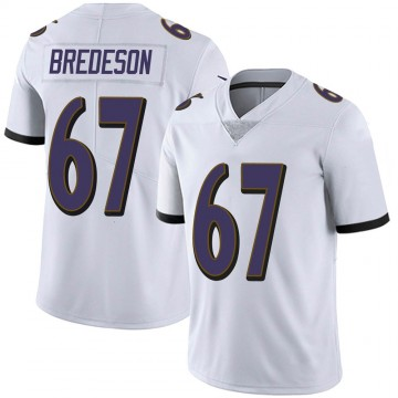 Youth Nike Baltimore Ravens Ben Bredeson White Vapor Untouchable Jersey - Limited