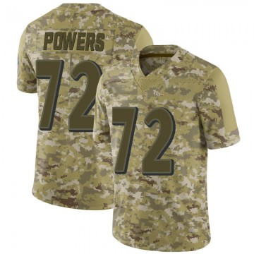 Youth Nike Baltimore Ravens Ben Powers Camo 2018 Salute to Service Jersey - Limited