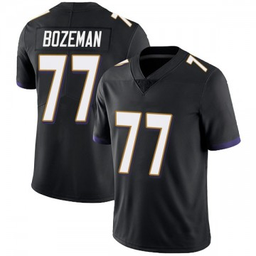 Youth Nike Baltimore Ravens Bradley Bozeman Black Alternate Vapor Untouchable Jersey - Limited