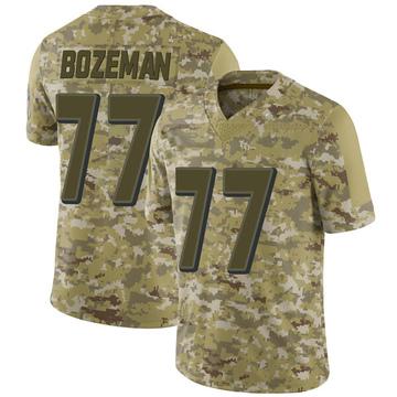 Youth Nike Baltimore Ravens Bradley Bozeman Camo 2018 Salute to Service Jersey - Limited
