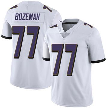 Youth Nike Baltimore Ravens Bradley Bozeman White Vapor Untouchable Jersey - Limited