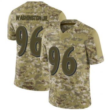 Youth Nike Baltimore Ravens Broderick Washington Jr. Camo 2018 Salute to Service Jersey - Limited