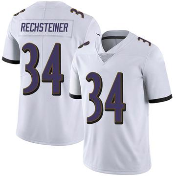 Youth Nike Baltimore Ravens Bronson Rechsteiner White Vapor Untouchable Jersey - Limited