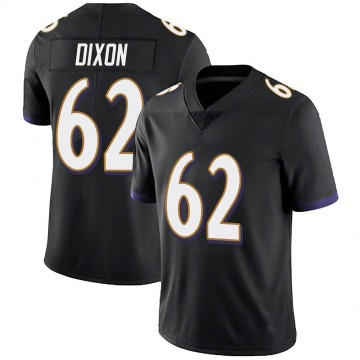 Youth Nike Baltimore Ravens Daishawn Dixon Black Alternate Vapor Untouchable Jersey - Limited