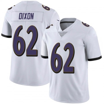 Youth Nike Baltimore Ravens Daishawn Dixon White Vapor Untouchable Jersey - Limited