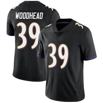 Youth Nike Baltimore Ravens Danny Woodhead Black Alternate Vapor Untouchable Jersey - Limited