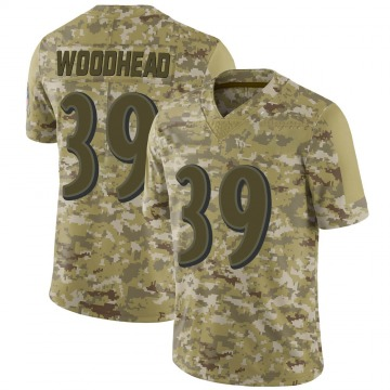 Youth Nike Baltimore Ravens Danny Woodhead Camo 2018 Salute to Service Jersey - Limited