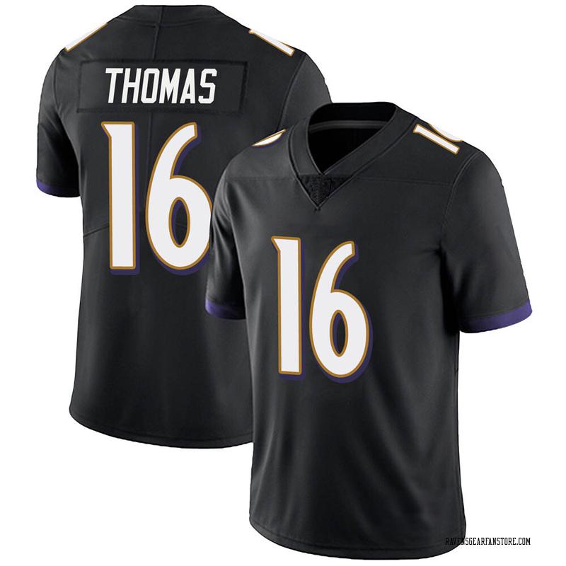 Youth Nike Baltimore Ravens De'Anthony Thomas Black Alternate Vapor Untouchable Jersey - Limited