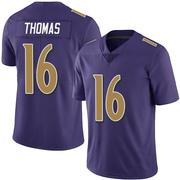 Youth Nike Baltimore Ravens De'Anthony Thomas Purple Team Color Vapor Untouchable Jersey - Limited