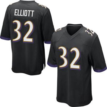 Youth Nike Baltimore Ravens DeShon Elliott Black Jersey - Game