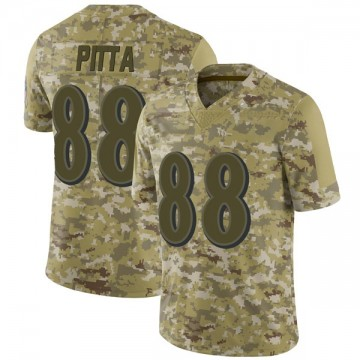 Youth Nike Baltimore Ravens Dennis Pitta Camo 2018 Salute to Service Jersey - Limited