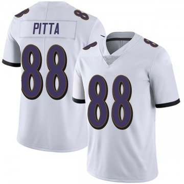 Youth Nike Baltimore Ravens Dennis Pitta White Vapor Untouchable Jersey - Limited