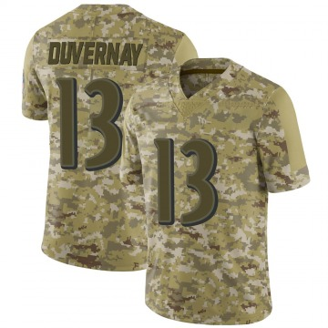 Youth Nike Baltimore Ravens Devin Duvernay Camo 2018 Salute to Service Jersey - Limited