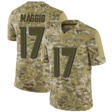 Youth Nike Baltimore Ravens Dom Maggio Camo 2018 Salute to Service Jersey - Limited