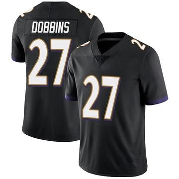 Youth Nike Baltimore Ravens J.K. Dobbins Black Alternate Vapor Untouchable Jersey - Limited