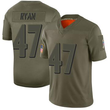 Youth Nike Baltimore Ravens Jake Ryan Camo 2019 Salute to Service Jersey - Limited