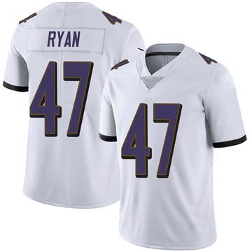 Youth Nike Baltimore Ravens Jake Ryan White Vapor Untouchable Jersey - Limited