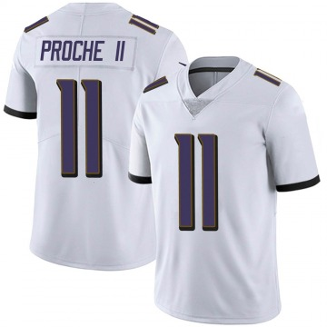 Youth Nike Baltimore Ravens James Proche White Vapor Untouchable Jersey - Limited
