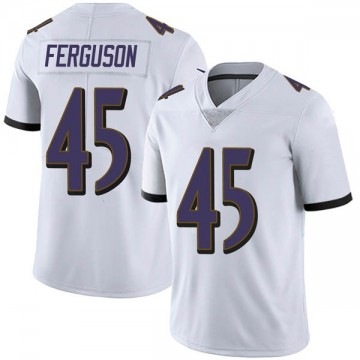 Youth Nike Baltimore Ravens Jaylon Ferguson White Vapor Untouchable Jersey - Limited