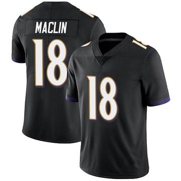 Youth Nike Baltimore Ravens Jeremy Maclin Black Alternate Vapor Untouchable Jersey - Limited