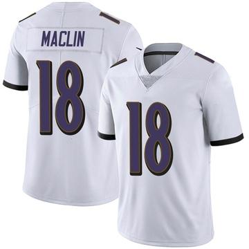 Youth Nike Baltimore Ravens Jeremy Maclin White Vapor Untouchable Jersey - Limited