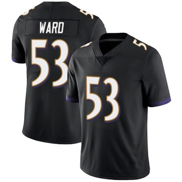 Youth Nike Baltimore Ravens Jihad Ward Black Alternate Vapor Untouchable Jersey - Limited