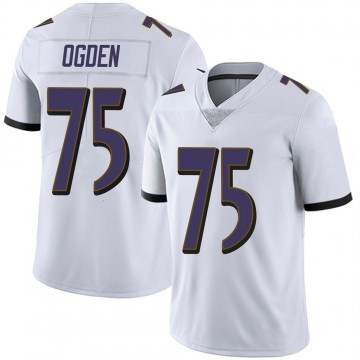 Youth Nike Baltimore Ravens Jonathan Ogden White Vapor Untouchable Jersey - Limited