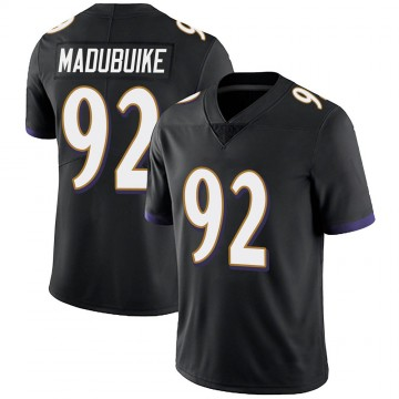 Youth Nike Baltimore Ravens Justin Madubuike Black Alternate Vapor Untouchable Jersey - Limited