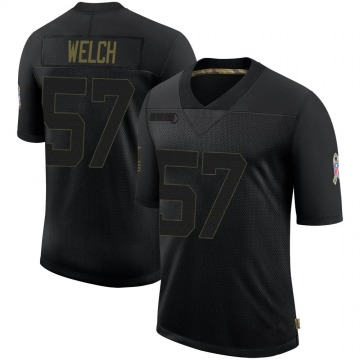 Youth Nike Baltimore Ravens Kristian Welch Black 2020 Salute To Service Jersey - Limited